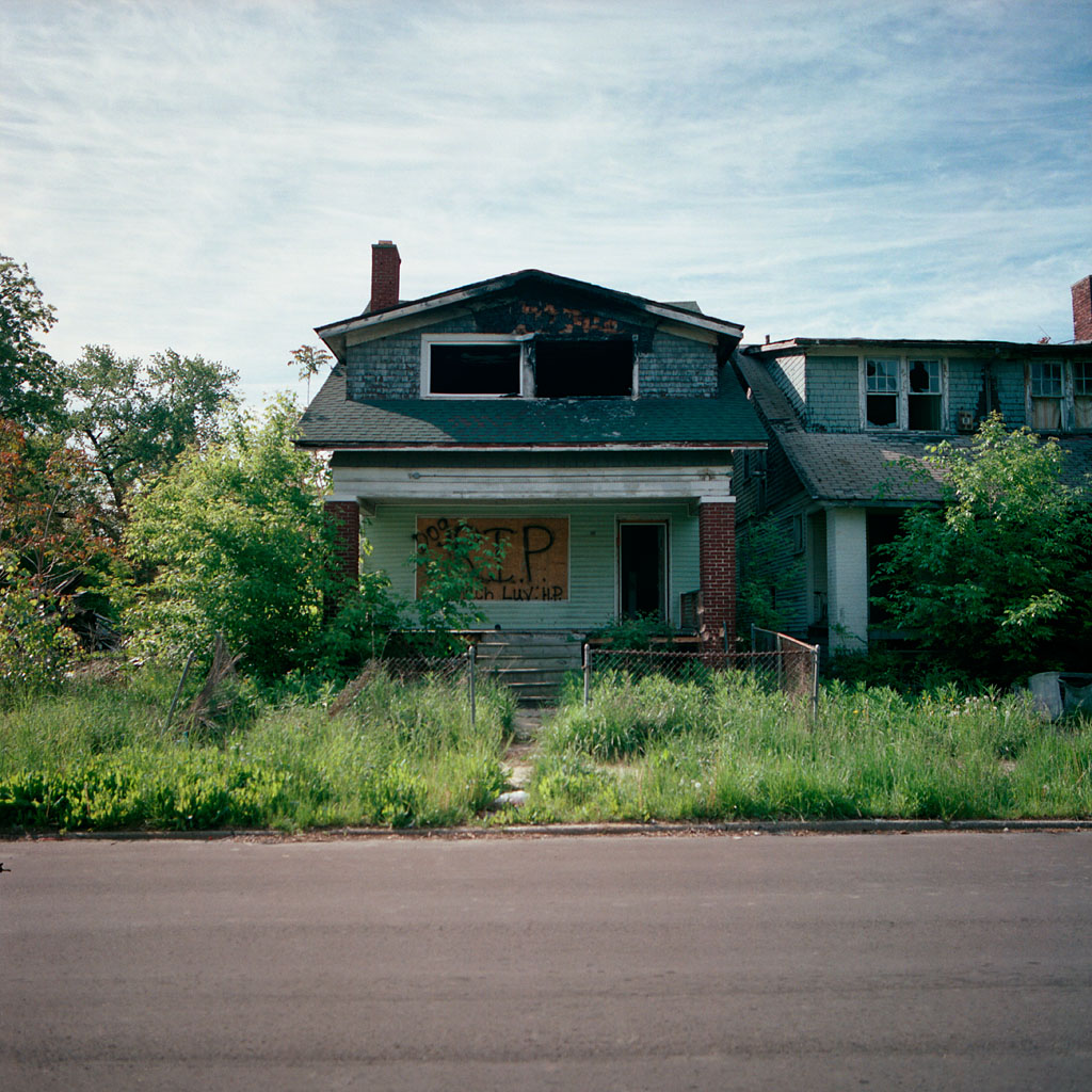 Abandoned House In The City Detroit 39 S Abandoned House Of